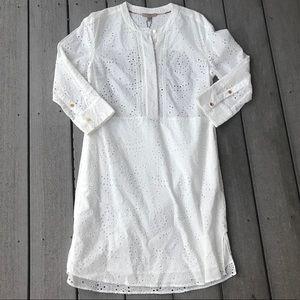 Burberry Dresses - Burberry Daniela Eyelet Dress in White